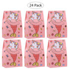24x Unicorn Paper Bags Party Candy Gift Bags for Kids Birthday Party Baby Shower