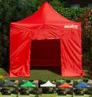 BULHAWK® 3x3m QUANTUM 30 HEAVY DUTY POP UP GAZEBO GARDEN SUN SHADE...