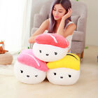 Cute Stuffed Soft Sofa Cushion Decor Japan Sushi Shape Plush Toys Gifts