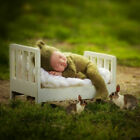 Kyпить Mini Wood Newborn Baby Bed Detachable Wooden Photography Photo Props For  U на еВаy.соm
