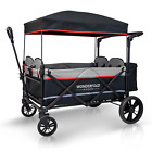 Kyпить X4 4-Passenger Pull & Push Quad Outdoor Stroller Wagon with Canopy (Nearly New) на еВаy.соm