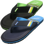 Norty Men's Memory Foam Footbed Flip-Flop Thong Sandal,  Brand New