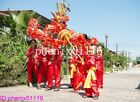 New CHINESE DRAGON DANCE 5.5m Folk Festival Costume For 6 children stage prop
