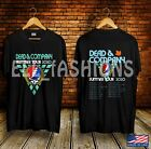 Dead and Company Summer Concert Tour 2020 Black T shirt Size S-2XL image