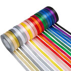 Kyпить 50 100 Yard Satin Ribbon Glitter Metallic Roll Assorted Color Bows Gift Wrapping на еВаy.соm