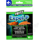 Expel-P Anti-Parasitic/Worm Freshwater/Saltwater Fish Treatment Fritz 10 OR 20pk