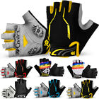 Motorcycle Bicycle Cycling Racing Half Finger Gloves Breathable Glove S XXXXL