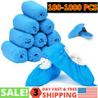100-200 PCS Disposable PVC Plastic Over Shoes Shoe Boot Covers Carpet Protectors <br/> FAST Shipping -US STOCK- HIGH QUALITY-Warehouse in WA