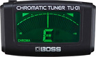 BOSS TU-01 Clip-On Chromatic Tuner for sale