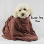 Microfibre Dog Dry Bath Towel Bag Quick Drying Dog Puppy Bags Doggy Cleaning UK