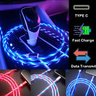 LED Lighting USB C Type C Data Sync Charger Cable For Huawei...