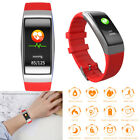 Men Women Sport Bracelet Wristband Fitness Tracker HeartRate Blood Pressure Test