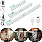 60 LED Closet Light USB Rechargeable Motion Sensor Wireless Under Cabinet Light