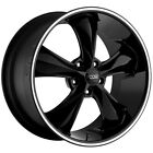 "Foose F104 Legend 17x8 5x4.5"" +1mm Gloss Black Wheel Rim 17"" Inch $284.2 CAD on eBay"