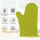 Heat Resistant Cooking Gloves Silicone Waterproof Glove Oven Grilling BBQ Mitts