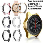 Case Holder Skin Silicone Shell For Samsung Gear S3 S4 Galaxy Watch 46mm 42mm