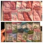 Gertex Infant Ankle Socks With Months Girls Size 0-12 Months 12 Pair New in Box