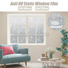 Frosted 3D Privacy Window Glass Door Film Sticker Stained Anti UV Self-adhesive