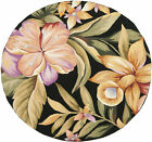 Safavieh HK212-4R Chelsea 4' Round Wool Hand Tufted Floral Area Rug