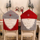 Home Table Elastic Chair Cover Dining Room Christmas Decoration Santa Claus