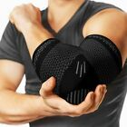 Copper Elbow Support Brace Arm Compression Sleeve Sport Arthritis Pain Relief