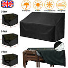 Garden 2 3 4 Seater Bench Cover Outdoor Waterproof Heavy Duty Furniture Covers