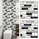 3d Wall Sticker Tile Self-adhesive Mosaic Kitchen Bathroom Decal Diy Home Decor