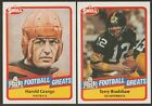 1989 SWELL FOOTBALL GREATS  - YOU PICK #1 - #150 - FREE SHIPPING