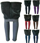 Women Winter Extra Thick Fleece Fur Lined Thermal High Waisted Leggings Pants