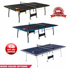 Kyпить Official Size Outdoor/Indoor Tennis Ping Pong Table 2 Paddles and Balls Included на еВаy.соm