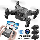 4DRC V2 Foldable Mini Drone for Kids Beginners,RC Nano Quadcopter Pocket Drone
