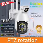 1080P WIFI IP Camera Wireless Outdoor CCTV HD PTZ Smart Home Security IR Cam NEW