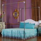 Stainless Steel Mosquito Netting Canopies Bed Frame Twin Full Queen King Size