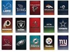 NEW NFL Officially Licensed Faded Glory Fleece Throw Blanket 60
