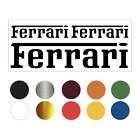 Parts For Ferrari Car Decal /vinyl Sticker Sticker  (buy 1 Get 1  Free) Free S/h