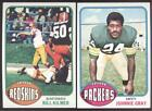 1976 TOPPS FOOTBALL - YOU PICK NUMBERS #1 - #200 - NMMT OR BETTER