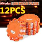Kyпить 12x LED Road Flares Emergency Lights Flashing Roadside Light Safety Beacon w/Bag на еВаy.соm