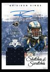 TODD GURLEY /149 $150+ ROOKIE AUTO JERSEY PATCH RC 2015 GRIDIRON KINGS AUTOGRAPH