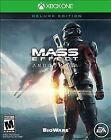 XBOX ONE MASS EFFECT: Andromeda - Deluxe Edition - Microsoft  2017 NEW
