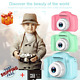 """Kids Digital HD Camera 2"""" Color Display Children Girl Birthday Gift+32GB TF Card picture"""