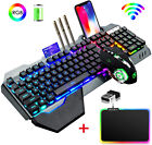 K680 2.4G Wireless Gaming Keyboard and Mouse Combo RGB Backlit For PC Mac Laptop