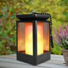 Outdoor Solar Garden Lights Cradient Flame Mode LED Lamp Automatic Work At Night