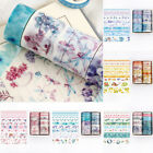 10Pcs Washi Tape Set Masking Cute Stickers School Stationery DIY Diary Supplies