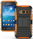 GRENADE GRIP RUGGED TPU SKIN HARD CASE COVER STAND FOR SAMSUNG GALAXY ACE-4 G313