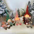 5xLED Light Christmas Gnome Luminous Doll Xmas Tree Hanging Ornament Table Decor