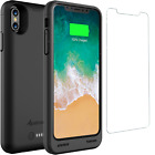 Alpatronix iPhone X / XS 4200mAh Qi Wireless Battery Charging Case Charger Cover