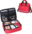 CURMIO  Equipment Bag with Padded Laptop Sleeve and 2 Detachable Transparent Com