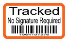 Postal RM Tracked Stickers - INR - Barcode - 100 Stickers - 3 Sizes & Quantities