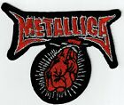 METALLICA - FIST - IRON or SEW-ON PATCH