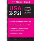 Preloaded T-Mobile 1 & 2 Month $40/ $50/$60 Unlimited data SIM Card